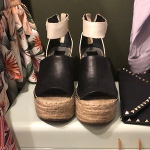 Dolce Chita wedge platform sandals, size 9